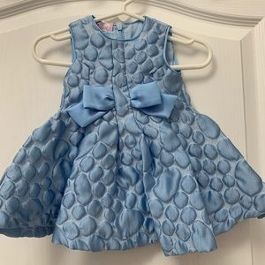 NWT Val Max Baby light blue dress 6M